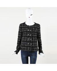 Chanel - Silk Textured Jacket - Lyst