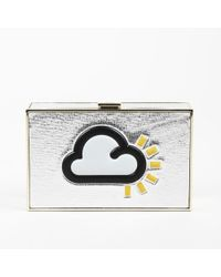"Anya Hindmarch - ""imperial Weather"" Leather Clutch - Lyst"