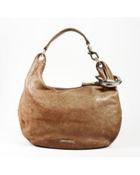 """Jimmy Choo - Leather & Snakeskin """"solar Bracelet"""" Hobo Bag - Lyst"""
