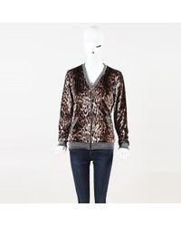 Roberto Cavalli - Gym Animal Print Velvet Jacket - Lyst