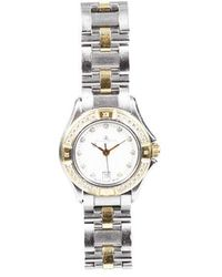 Baume & Mercier Malibu 18k Gold Diamond Watch Silver/gold Sz: - Metallic