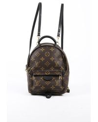 Louis Vuitton Palm Springs Mini Brown Monogram Coated Canvas Backpack