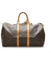 Louis Vuitton Monogram Keepall 45 - Brown