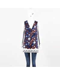 Thakoon - Floral Silk Tunic Top - Lyst