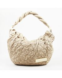 "Louis Vuitton - Beige Leather Monogram Olympe ""nimbus"" Gm Hobo Bag - Lyst"