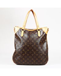 "Louis Vuitton - Brown Monogram Coated Canvas ""odeon Gm"" Bag - Lyst"
