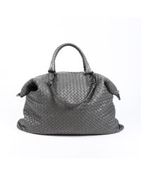 Bottega Veneta Intrecciato Convertible Bag - Gray
