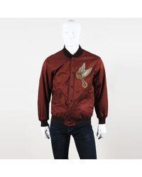 Ralph Lauren - Patched Cotton Blend Men's Reversible Bomber Jacket - Lyst