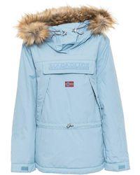 Napapijri Coats & Jackets - Blue