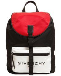 Givenchy - Ultraleichter Nylonrucksack Mit Logo - Lyst