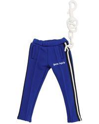 Palm Angels Schlüsselanhänger mit Jogginghose - Blau