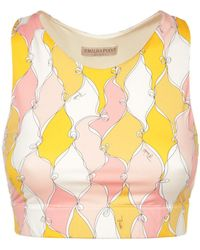 Emilio Pucci - Sustainable クロップトップ - Lyst