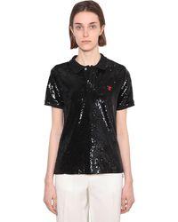 Polo Ralph Lauren - スパンコール メッシュポロシャツ - Lyst