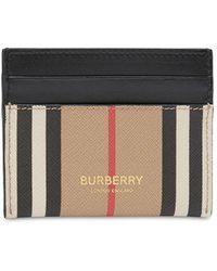 Burberry Кредитница Из Канваса - Черный