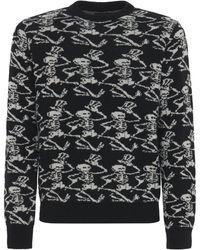 Amiri Grateful Dead カシミアニットセーター - ブラック