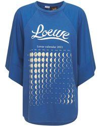 Loewe Paula's Ibiza コットンtシャツ - ブルー