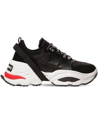 DSquared² Sneakers mit Plateausohle - Schwarz