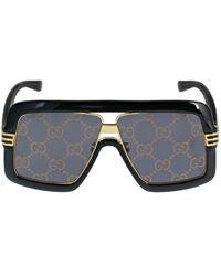 """Gucci Oversized Sonnebrille """"gg0900s"""" - Schwarz"""