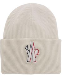 3 MONCLER GRENOBLE - ウールトリコット帽 - Lyst
