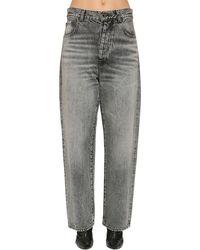 Unravel Project baggy Cotton Denim Jeans - Black