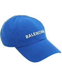 Balenciaga - コットンベースボールキャップ - Lyst