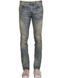 7e0a240831bb Faith Connexion - 16cm Skinny Sprayed Biker Denim Jeans - Lyst