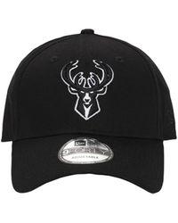 KTZ 9forty Snapback Milwaukee Bucks キャップ - ブラック