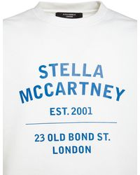 Stella McCartney コットンジャージースウェットシャツ - ホワイト