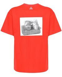 "Nike T-shirt ""acg Dri-fit"" - Rot"