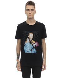 RH45 Milo Embellished Cotton Jersey T-shirt - Black