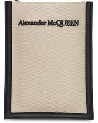 Alexander McQueen Сумка Из Канваса - Естественный