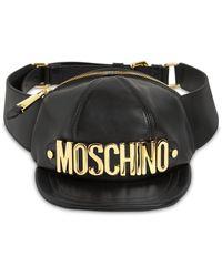 Moschino - Macro Hat レザーベルトバッグ - Lyst