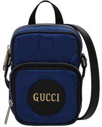Gucci Off The Grid エコナイロンバッグ - ブルー