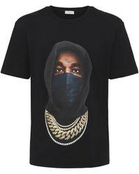 ih nom uh nit Kanye Mask Tシャツ - ブラック