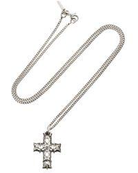Emanuele Bicocchi - Cross Necklace - Lyst
