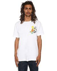 Off-White c/o Virgil Abloh - T-shirt En Jersey Imprimé Bart Coupe Slim - Lyst