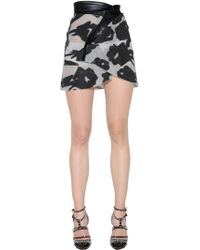 Blumarine - Asymmetrical Fil Coupe Skirt - Lyst