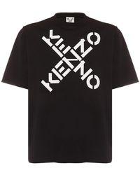 KENZO Sport オーバーサイズコットンtシャツ - ブラック