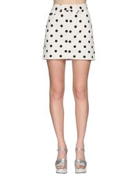 Marc Jacobs デニムミニスカート - ホワイト