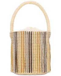 Sensi Studio Mini Beaded Bucket Bag - Multicolor