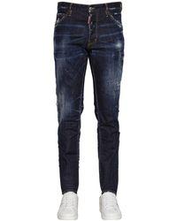 """DSquared² 16.5cxm Jeans Aus Baumwollmischdenim """"cool Guy"""" - Blau"""