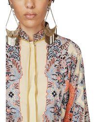 Etro Bedruckte Bluse Aus Crepe De Chine - Mehrfarbig