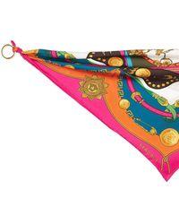 Versace Printed Silk Twill Bandana - Multicolour