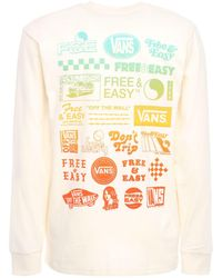Vans X Free & Easy 長袖tシャツ - ホワイト