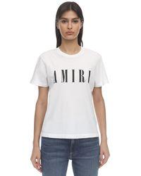 Amiri コットンジャージーtシャツ - ホワイト
