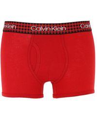 Calvin Klein Elastischer Slip Mit Logo - Rot