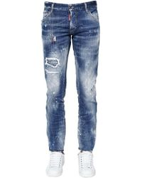 DSquared² - 16.5cm Cool Guy Cotton Denim Jeans - Lyst