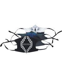 Marcelo Burlon Pack Of 3 Cross Logo & Wings Active Mask - Black