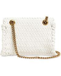 Dolce & Gabbana Сумка Devotion Intreccio - Белый