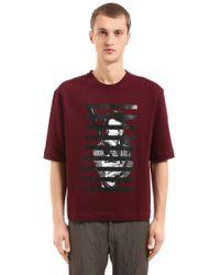 Antonio Marras - Printed Cotton Jersey Sweatshirt - Lyst